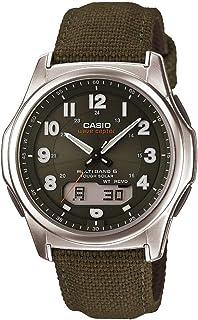 Men's Wave Ceptor Stainless Steel Quartz Watch with Nylon...