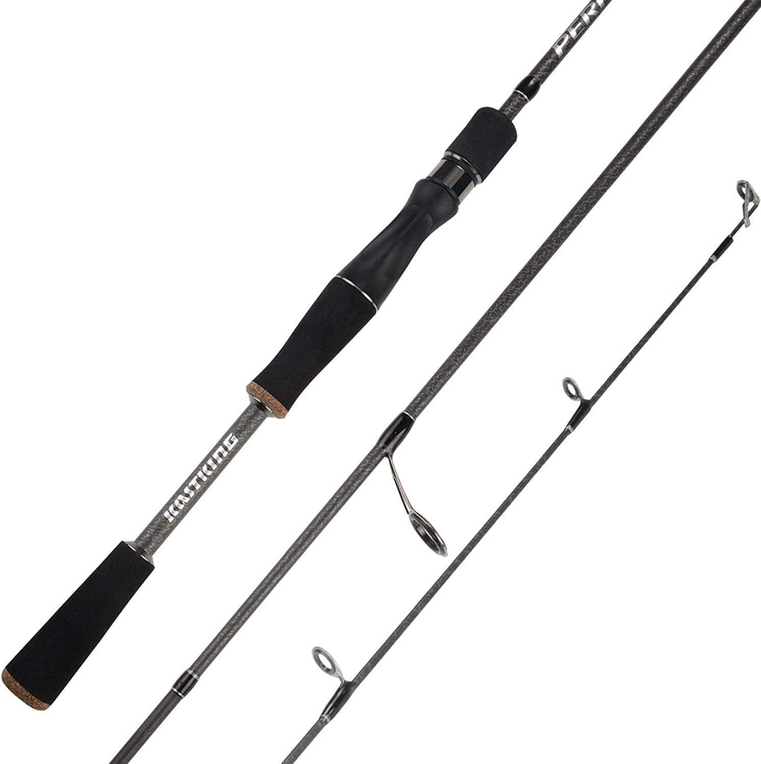 Perigee 1.98M 2.13M 2 Tip Spinning Baitcasting Fishing Rod MF & MH Actions 7-14g Lure Weight Casting Lure Fishing Rod