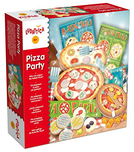 Lisciani-Lisciani-47062-Jeu Lisciani-47062-Jeu De Rôle-Ludattica-Pizza Party, 47062