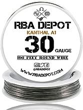 [RBA DEPOT] 100ft - 30 Gauge AWG KA1 FeCrAl Alloy Kanthal Resistance Wire A1