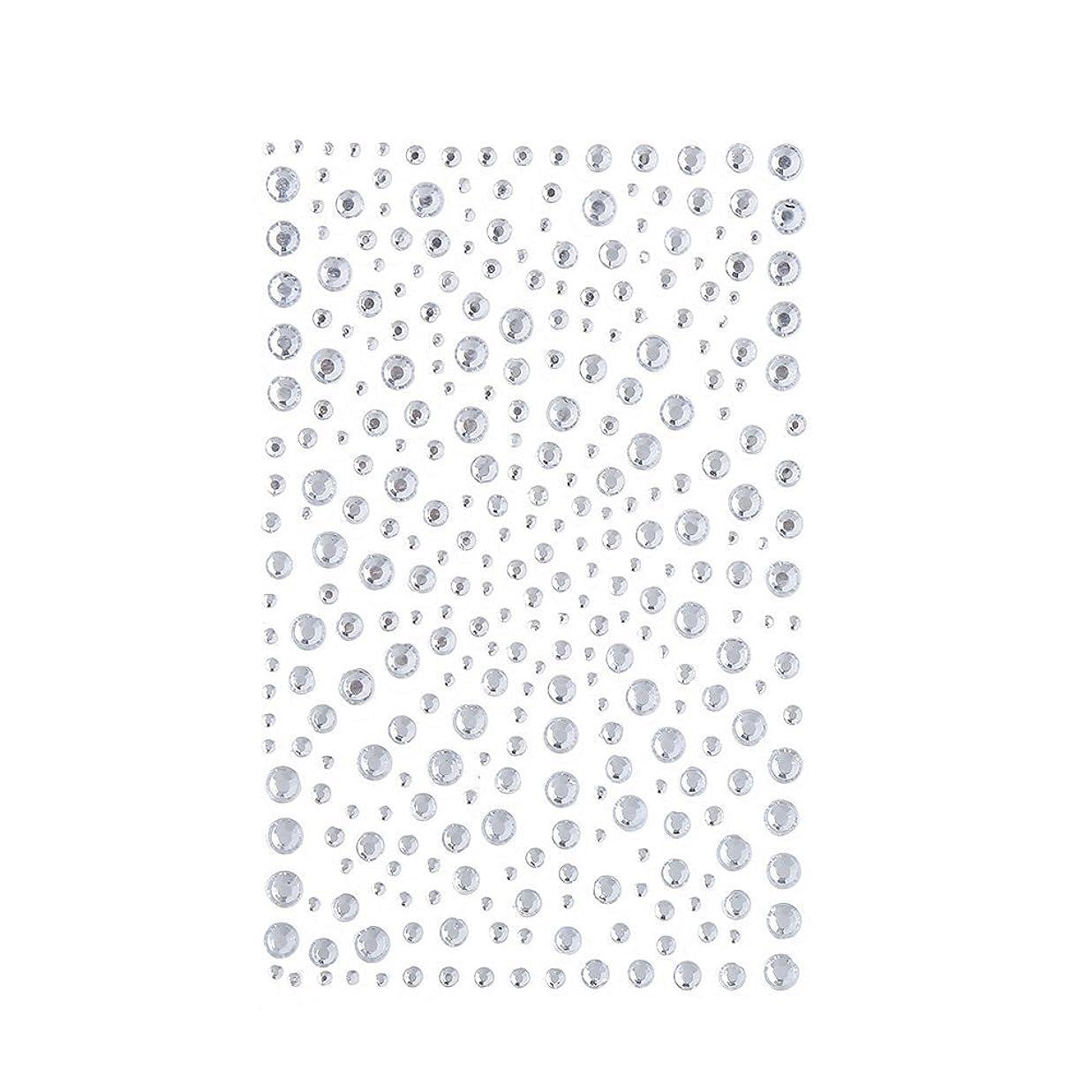 決して薄いです角度ラインストーン 人工ダイヤモンド スワロフスキー ホットフィックス 325粒 (白)