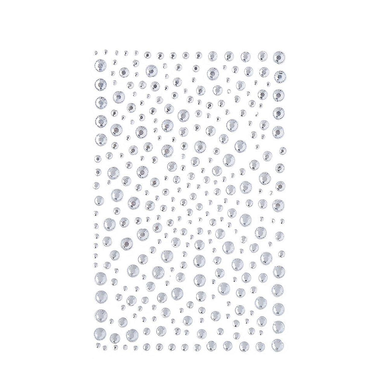 支払い侵入するラインストーン 人工ダイヤモンド スワロフスキー ホットフィックス 325粒 (白)