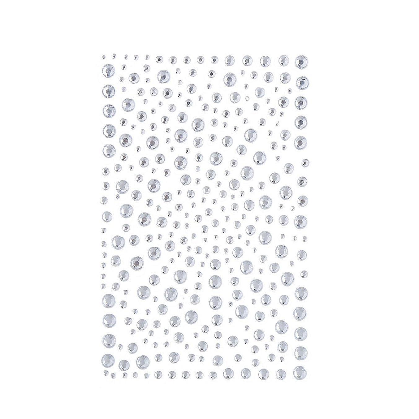 発掘するホステルの配列ラインストーン 人工ダイヤモンド スワロフスキー ホットフィックス 325粒 (白)
