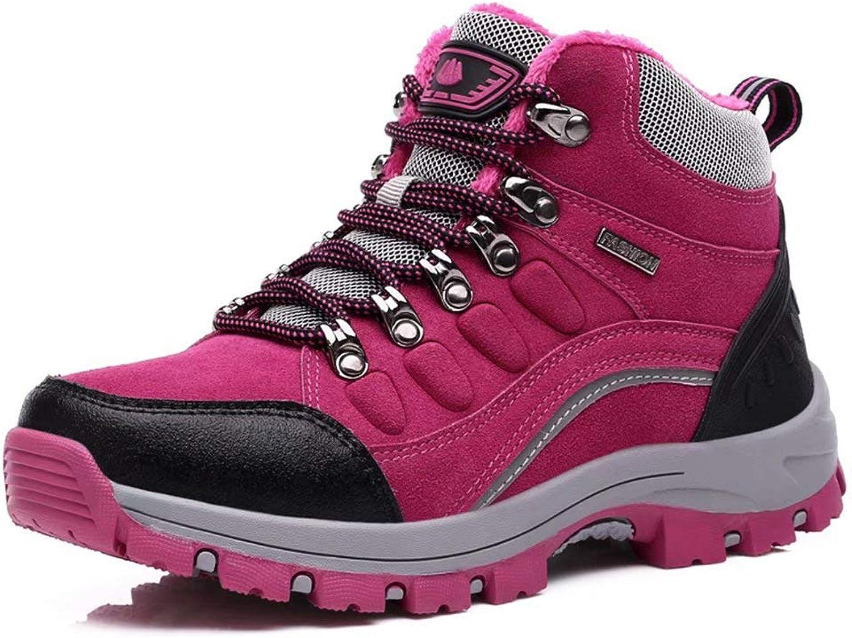 WGW Men's and Women's Outdoor Waterproof Hiking Boots