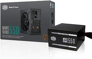Cooler Master MPX-5501-ACAAB-EU - Fuente de alimentación ATX (550W) Color Negro