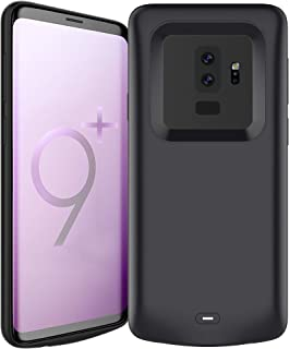 TREEZITEK Battery Case Compatible with Samsung Galaxy S9 Plus,5200mAh Rechargeable Extended Protective Portable Backup Charger Case for Samsung Galaxy S9 Plus Size Only