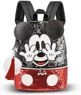 Mickey Mouse Shy - Mochila Bouquet, Multicolor, Pequeña