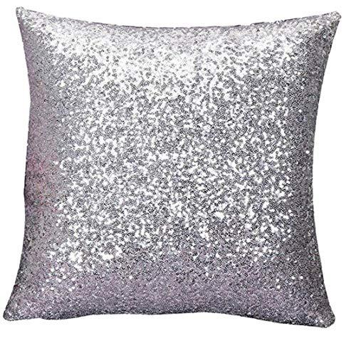 MICHAELA BLAKE 1pc mágica Sirena Funda de Almohada Reversible Lentejuelas del Brillo del Amortiguador del sofá Colorido Cubierta de Lentejuelas Fundas Cambio de Color Inicio Sofá Decorativo