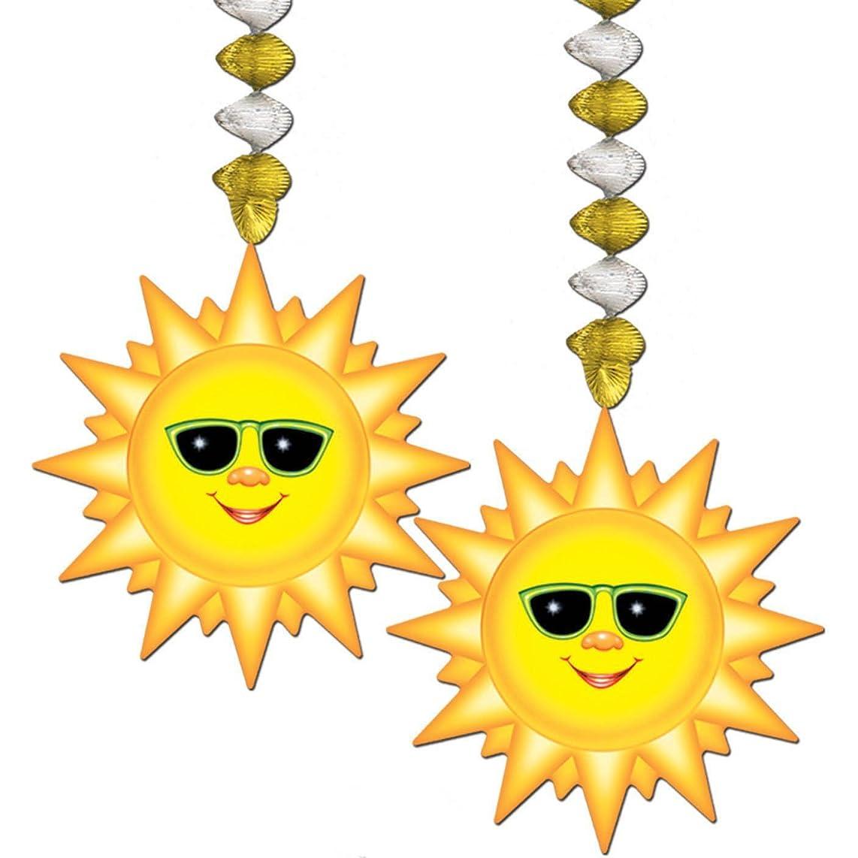 Sunburst Danglers Party Accessory (1 Count) (2/pkg) Pkg/3