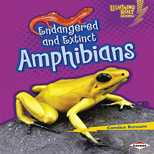 『Endangered and Extinct Amphibians』のカバーアート