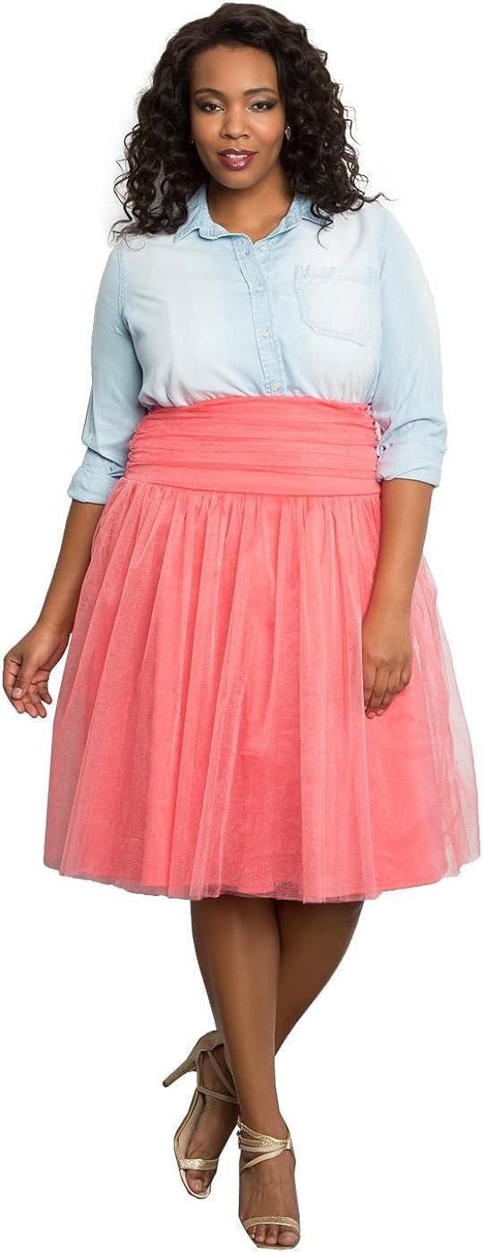Kiyonna Women's Plus Size Twirling in Tulle Skirt