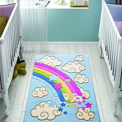 Confetti 331-0542-0086-01 Tappeto Bambino, Poliammide, Multicolore, 100 x 150 cm