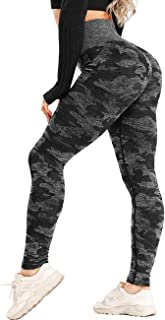 INSTINNCT Womens Yoga Pants Seamless High Waist Butt Lifting Squat Proof Workout Compression Leggings