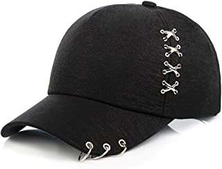 Glamorstar Rings Hats Classic Unisex Baseball Cap Adjustable Cotton Ball Hat