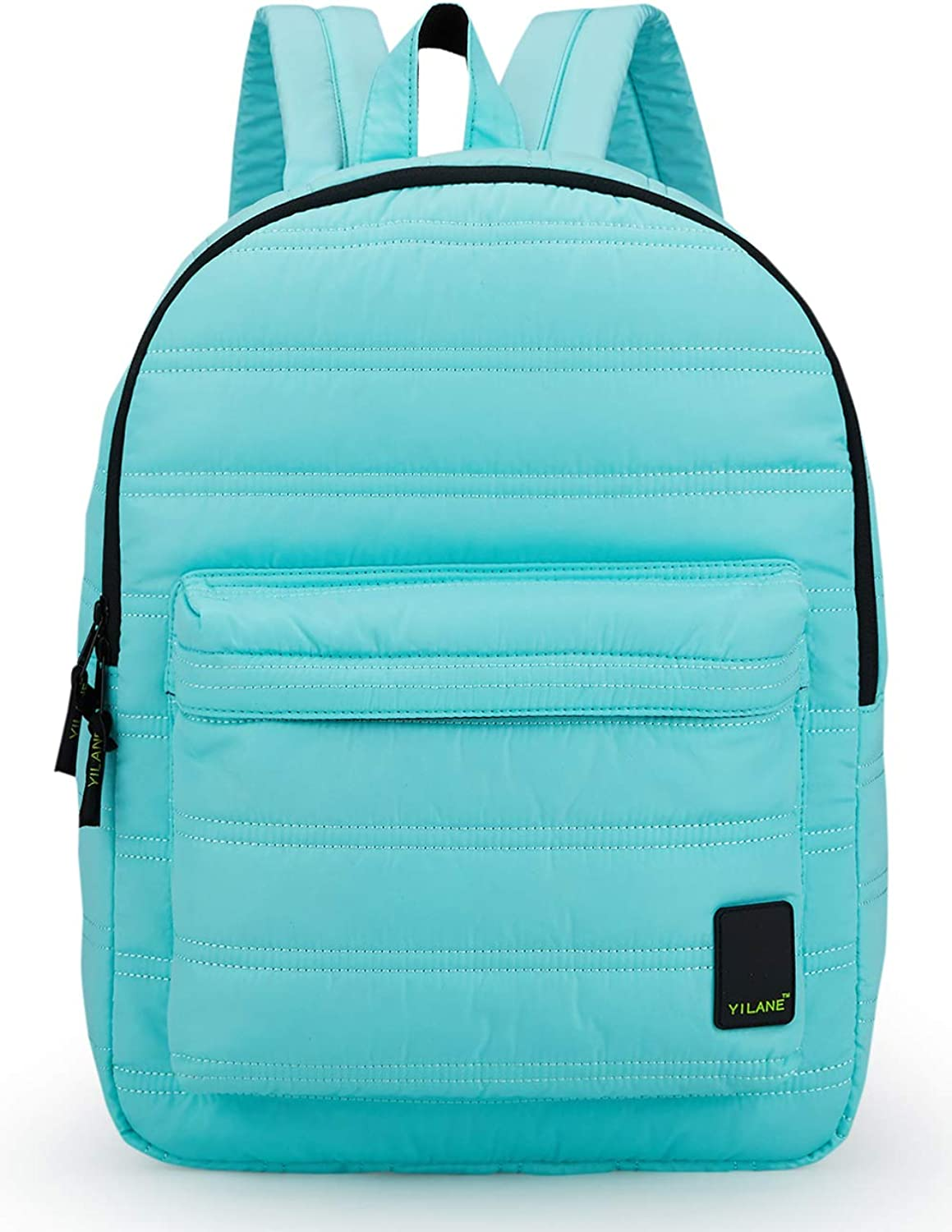 Everyday Backpack, Stylish Lightweight Waterproof Casual Backpack or Travel Daypacks with Soft Durable Material for Student (Light Green)