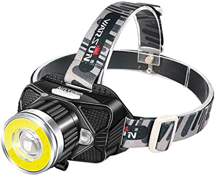 XUANLAN LED Sensor Headlights Glare Rechargeable Headset Flashlight 3000 Meters Remote Waterproof Outdoor Headlights