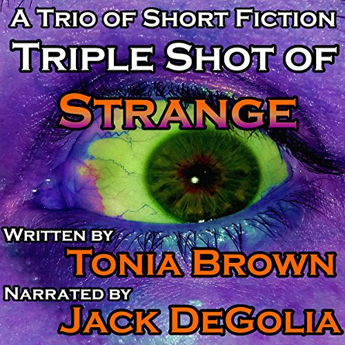 Triple Shot of Strange audiobook cover art