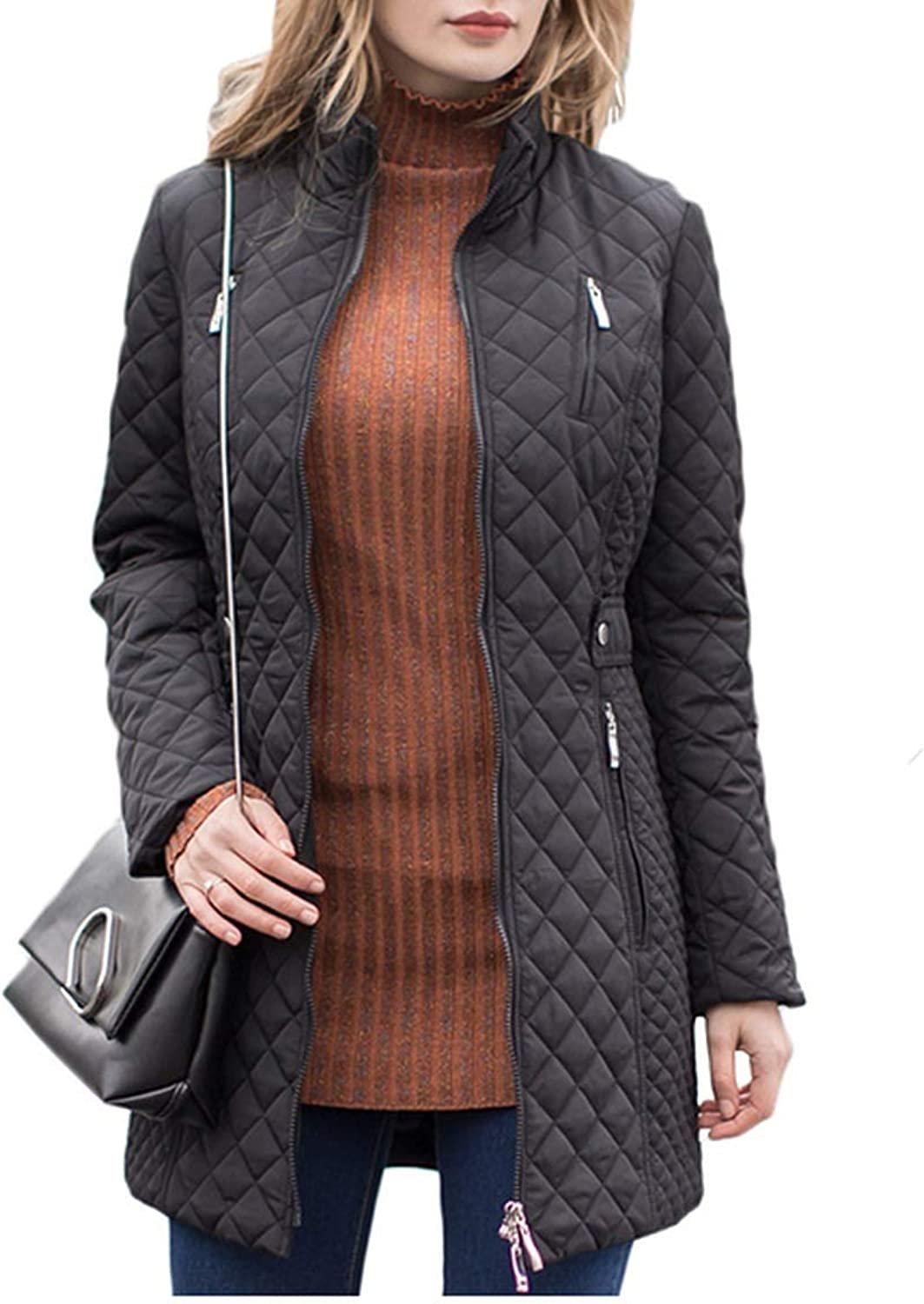 Sex Appealing Women Parkas New Jackets Lady Casual Padded Coat Long Quilted Female Oversize Outerwear