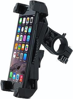 Bike Phone Mount Holder,Leepiya Universal Adjustable Bicycle Motorcycle Handlebar Phone Mount for iPhone X/8 Plus/8/7 Plus/7/6S,Galaxy S9/S9 plus,note 8/S8 plus/S8 and all 4.5-6 Inch Smartphones[Black