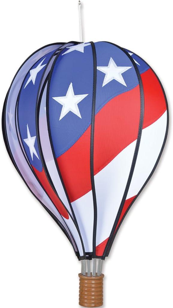 Premier Kites Hot Air Balloon 22 In. - Patriotic,Small: Garden & Outdoor