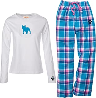 Irish Setter Ladies Flannel Pajamas.