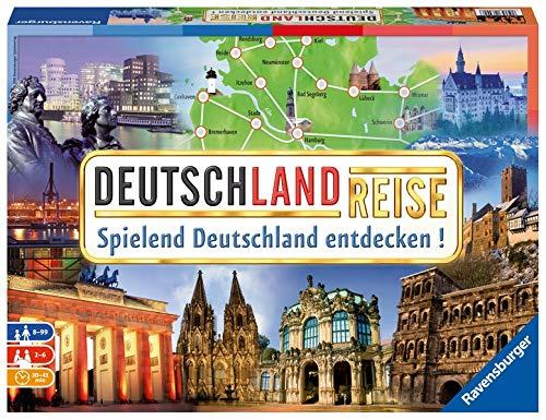 Deutschlandreise: Spielend Deutschland entdecken!