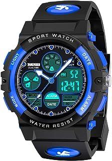 SOKY Kids LED Waterproof Digital Sport Watch Teen Boys Girls Outdoor Watches