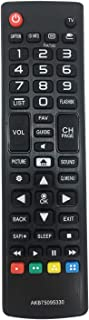 MYHGRC New Replacement LG AKB75095330 Remote Control for LG LCD LED HD TV, No Programming Or Pairing Needed TV Remote Control Fit for 28MT42DF 43LJ5000 32LJ500UB 28LJ400B-PU 32LJ500B-UB 43LJ5000-UB