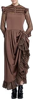 Womens Victorian Renaissance Costume Adjustable Ruffle Dresses