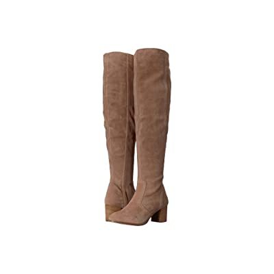 Matisse Sweetie Tall Suede Boot (Taupe) Women
