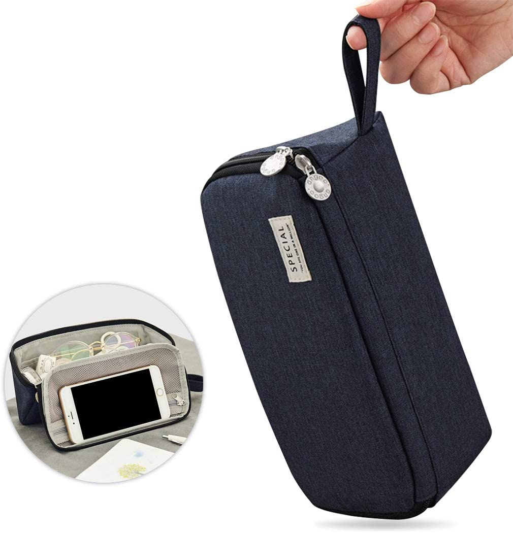 iSuperb Large Capacity Pencil Pouch Cheap 5 ☆ popular super special price Portabl Triangle Case