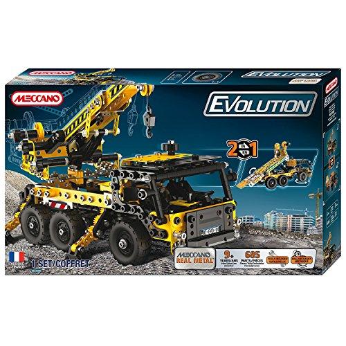 Meccano - 868200 - Jeu de Construction - Camion Grue Evolution