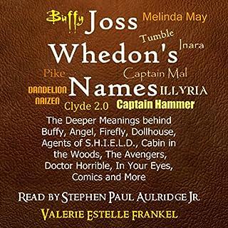 Joss Whedon's Names audiobook cover art