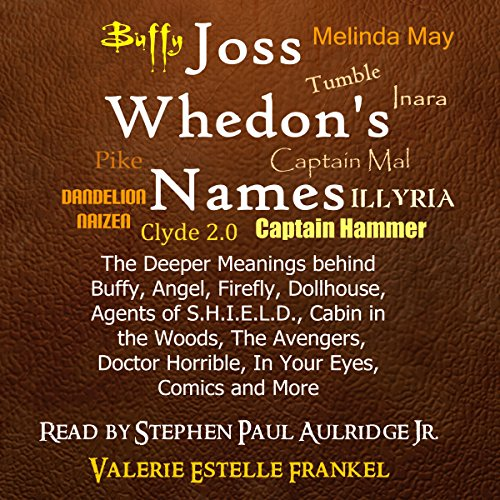 Joss Whedon's Names cover art