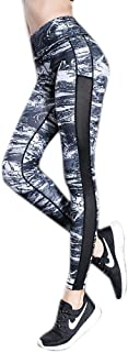 Whitewed Colored Patterned High Waisted Yoga Gym Sports Tights Pants Leggings