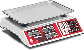 Vinson Vins-40 Báscula De Mostrador 40 Kg / 5 G. Pesa En Kilogramos Y Libras. Función De Conteo De Piezas, Suma De Product...