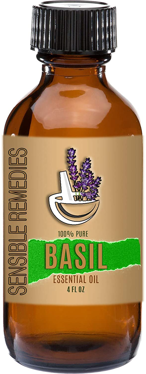 Sensible 2021 autumn and winter new Remedies Basil 100% Virginia Beach Mall Pure Grade Essential Therapeutic Oi
