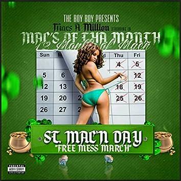 "The Boy Boy Presents: Mac's Of Tha Month ""Free Mess March"" St. Mac'n Day / 12 Months of Mac'n"