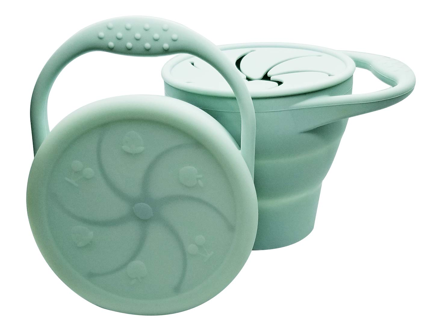 Toddler Container Collapsible Silicone Catcher