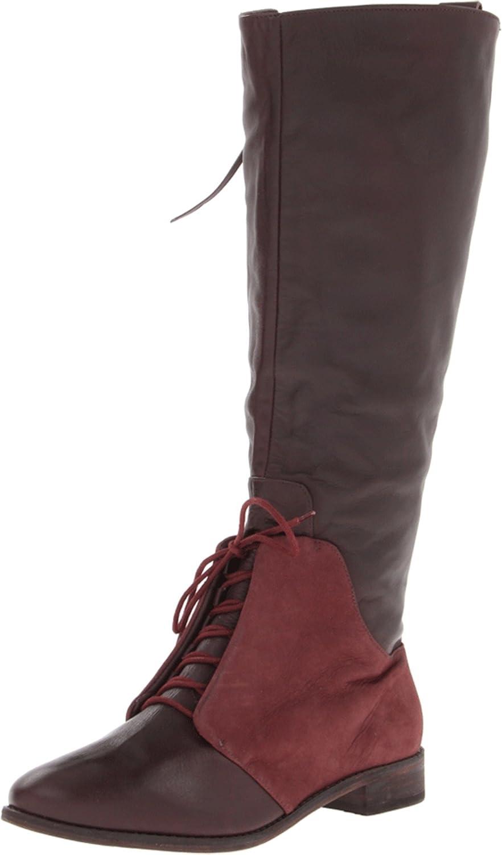 Kooba Women's Serenity Wine Nubuck Leather Boot 6 M