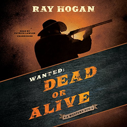 Wanted: Dead or Alive audiobook cover art