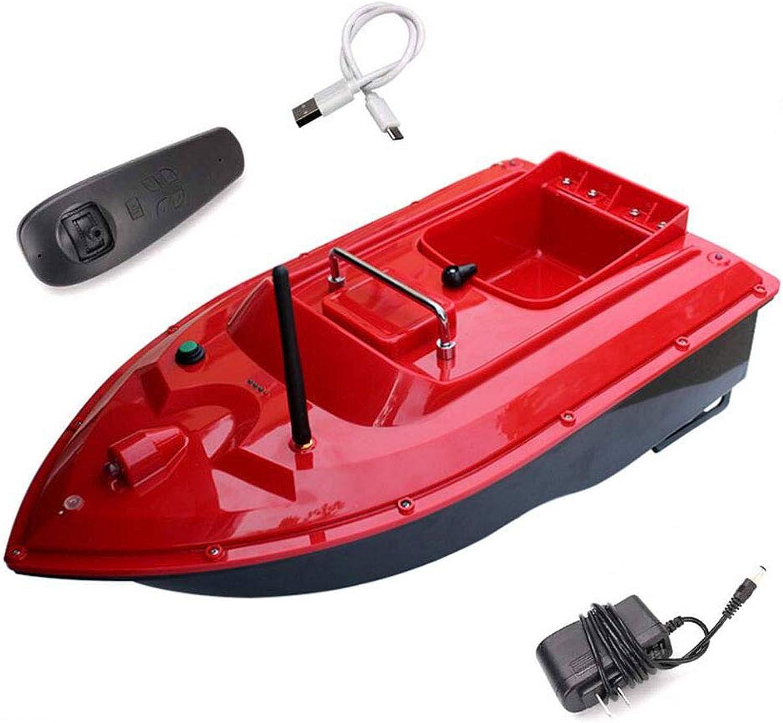 el mas de moda QTSR Barco RC de Cebo de Pesca Buscador de de de Peces Control sin obstrucciones a 500m Doble hélice Puede Llevar 1.5kg para Adultos y Niños  descuento de ventas