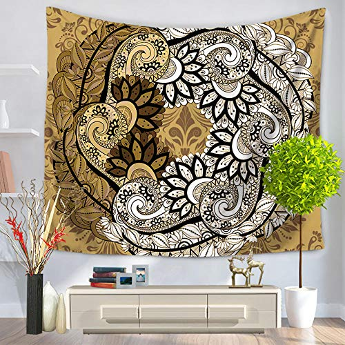 Tapiz de mandala indio, tapiz bohemio para colgar en la pared, manta de alfombra para playa, tienda de campaña, tapiz bohemio de viaje, tapiz Mb-117