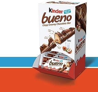 Kinder Bueno Crispy Creamy Chocolate Bar, 1.5 oz, 20 Count