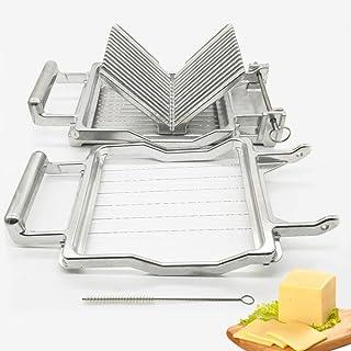 Qualité Commerciale Fromage Slicer, Acier Inoxydable Lames 1Cm 2Cm Fil, Dessert Faire Lame Cuisine Familiale Durable De Cu...