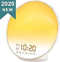 Wake Up Light Sunrise Alarm Clock for Kids, Heavy Sleepers, Bedroom, with Sunrise..
