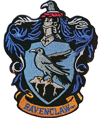 """Ata-Boy Harry Potter Ravenclaw Crest 3"""" Full Color Embroidery Iron-On Patch"""