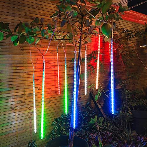 YUANBIAO Guirnalda Luces Luces LED Guirnaldas Luces LED Exterior IP65 Impermeable para Hogar, Pared, Navidad, Fiesta, Boda,Decoraciones De Dormitorio (Color : Color, Size : 30cm 8 Tubes)