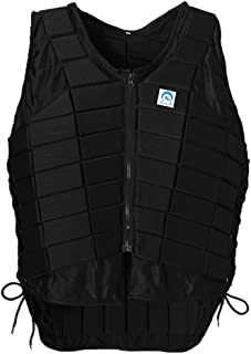 CUTICATE EVA Padded Equestrian Protective Vest, Horse Riding Vest Body Protector Plus Size for Toddler Kids Youth Men Women
