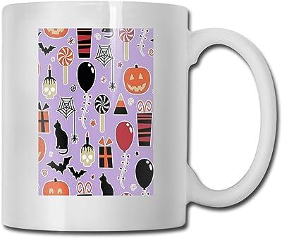 マグカップ ハッピーハロウィン コーヒーカップ セラミックマグカップ 330ml 白 無地 熱に強い 割れない 軽量 使い勝 手良い 水筒 おしゃれ 男性 女性